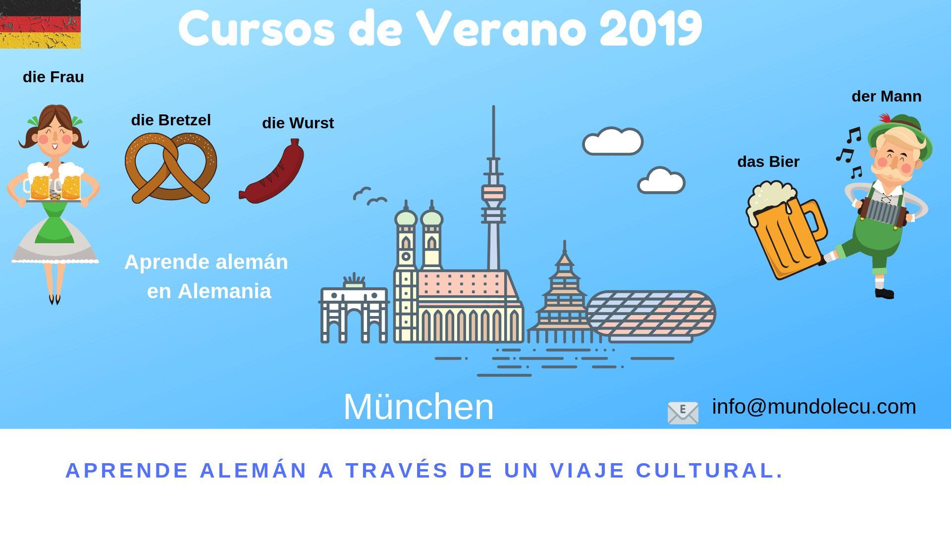 curso de aleman verano Munich
