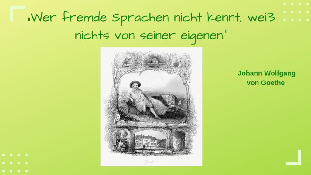 Intensivkurs Deutsch München mundolecu Sprachschule - Zitat