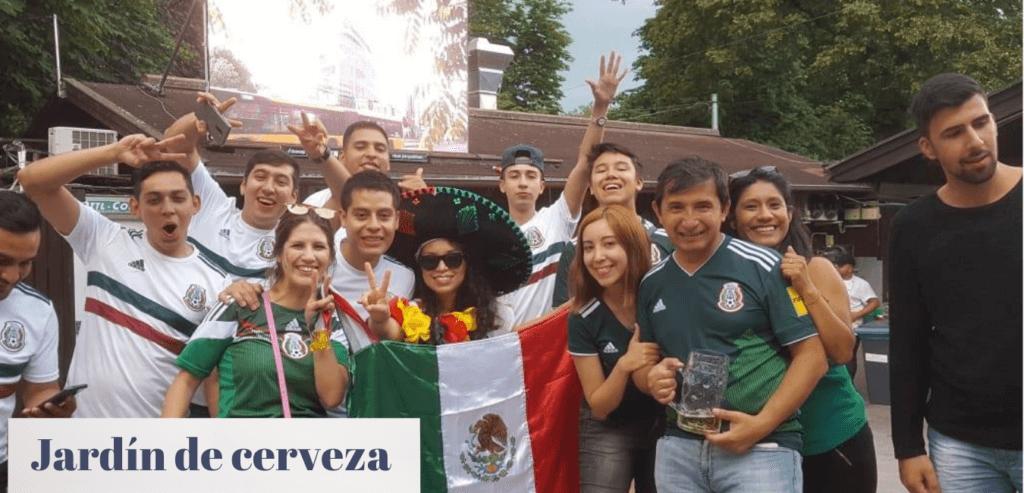 Fußball Mexiko gegen Deutschland